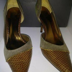 Cute money green heels